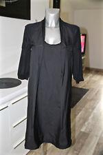 IKKS  jolie robe en coton noir stretch taille 40 fr 44i  EXCELLENT ÉTAT