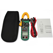 MS2108S True RMS DC clamp meter nrush compared w/ FLUKE CURRENT DIGITAL METER