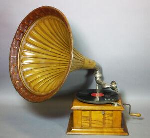 Originales Parlophon Trichter Grammophon  Top Zustand