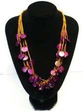 Coconut Beads African Necklace