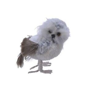 Winter Owl Christmas Decoration 13cm
