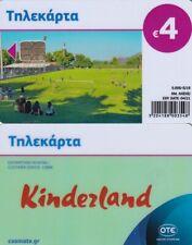 GREECE phonecard Kinderland 5000ex 05/19 no CN