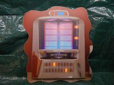 Vtg Sign, Rock-ola Seeburg StyleTabletop Song Selection Wallbox Jukebox Selector