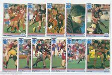 1992 Regina NSW Rugby League NORTH SYDNEY BEARS Team Set (11 Cards) ++++