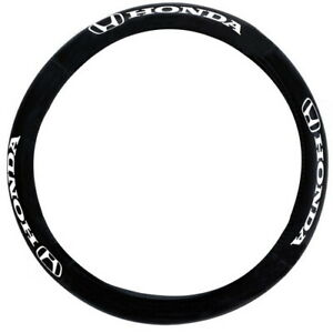 Official Honda License Genuine Leather Steering Wheel Cover