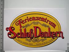 Aufkleber Sticker Haren Ems Schloß Dankern - Ferienzentrum (6030)