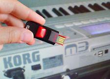16GB usb sounds soundfonts FOR Korg M3 & Kronos :analog juno hammond Virus jd800