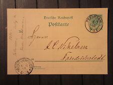 """Schleswig Holstein  nachverw. """"Pellworm"""" von 1895    (#181)"""
