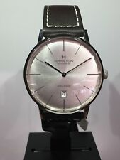 NEW Authentic HAMILTON IMTRAMATIC H387550 42MM STRAP S/S Box/Papers*