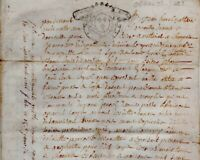 1733 Acte Vélin Orne Crouttes bail une ferme BAILLARGEAU CAUVIGNY La Gallotière