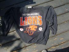 Rare Vintage 1980s Era B.C. Lions CFL Sweatshirt Adult Ex Lg