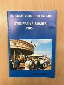 Great Dorset Steam Fair 1985 Programme from the show's archive