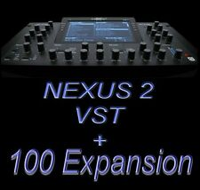 Nexus 2+ 100 Expansion pack / Z3TA+2 / Modernize Rompler +  for Windows