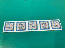 5x Intel Core i7 inside Sticker Case Badge 7th Generation Kaby Lake USA Seller!