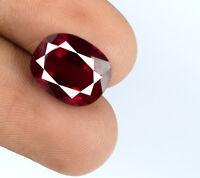 Oval Cut Burma Ruby Loose Gemstone 100% Natural 6-8 Carat/11mm AGSL Certified
