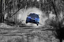 Subaru Wrx Sti Super Sport Coche Grande Póster Pared Estampa Tamaño A4 A2 A1 A0