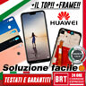 LCD DISPLAY+TOUCH SCREEN+FRAME PER HUAWEI P20 LITE ANE-LX1 VETRO SCHERMO BRT_24H