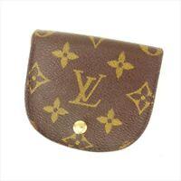 Louis Vuitton Wallet Purse Coin Purse Monogram Woman Authentic Used T8783