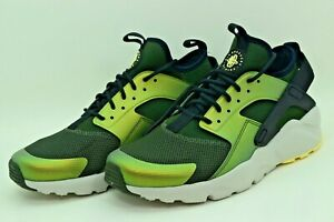Nike Air Huarache Run Ultra SE Sequoia Green 875841-302 Mens Size 10