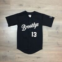 RARE! KAWS x MTV 2013 VMA 13 BROOKLYN BASEBALL JERSEY EMBROIDERED Men's M