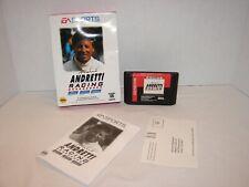 Mario Andretti Racing (Sega Genesis, 1994) *Used* See Photos...
