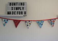 Robot bunting nursery bedroom playroom decoration garland handmade