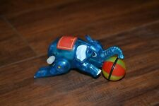 B12- Elephant Wind Up Toy With Spinning Ball approx. 3.5""