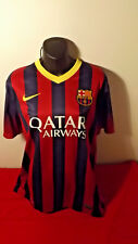 FC BARCELONA OFFICAL NIKE JERSEY IN GREAT COND SIZE L