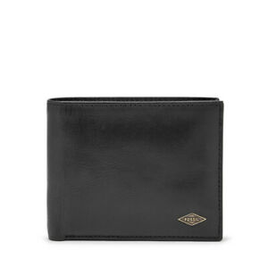 Fossil ML3829001 Mens Ryan Black Bifold Wallet