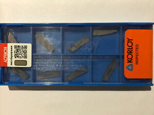 MGMN200-G 2mm Parting Inserts Korloy Compatible