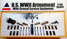 Accurate Miniatures 1/48 U.S. WWII Armament w Ground Service Equipment #9900