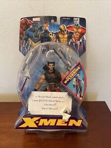 ToyBiz X-Men Classics Ninja Strike Wolverine Action Figure w/Weapons 2005 New