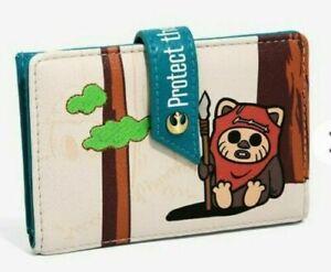 Star Wars Ewok Wallet Endor Protect The Forest Wallet Disney Bioworld