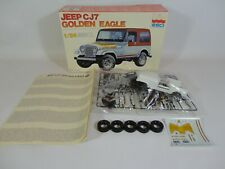 ESCI Jeep CJ7 Golden Eagle 4WD Vintage 3035 Model Kit 1/24 Scale 1:24 Made Italy