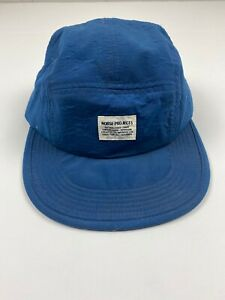 Norse Projects 5 Panel Cap Blue One Size