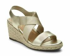 899bdcd0dcdb Vionic Women s Tulum Ainsleigh Ankle-Strap Wedged Sandals Champagne