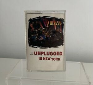 Nirvana Unplugged in New York Cassette Tape GEC 24727 GEFFEN