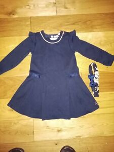 Ted Baker GIRL dress age 3 TO 4 comes with the Hair Band + Ted Baker Gift Bag