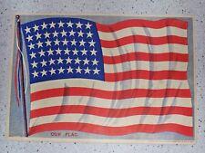 Chicago Sunday Herald Newspaper Supplement Insert May 23, 1915 American Flag