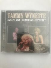 Tammy Wynette-One Of A Kind / Womanhood / Ju (UK IMPORT) CD NEW