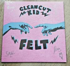 Clean Cut Kid LP SIGNED  FELT  Sealed