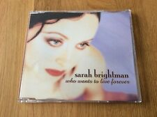 Sarah Brightman Maxi-CD Who Wants To Live Forever - German 4-track CD