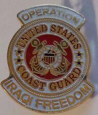 Us Coast Guard Operation Iraqi Freedom Pin