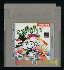 SNOOPY'S MAGIC SHOW Gameboy Game Boy Versione Italiana ••••• SOLO CARTUCCIA
