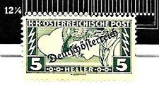 AUSTRIA; # 267D,Emerald 5 Heller..PERF 12.25 x 12.25.  UN-USED..1919..