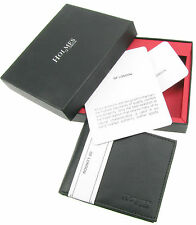 MENS LUXURY SOFT BLACK REAL LEATHER WALLET CREDIT CARD HOLDER PURSE UK NEW BL505