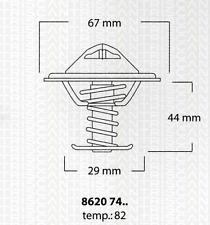 Thermostat Kühlmittel - Triscan 8620 7482
