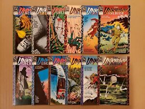 The Unknown Soldier #1-12 complete Lot of 12 DC 1988 New Format VF/NM avg
