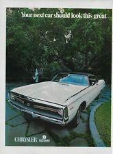 1969 1970 Chrysler 440 ci 350 HP 2 Pg   Original Print Ad