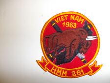 b6748 USMC Vietnam HMM 261 Helicopter Marine Medium 1963 R5E